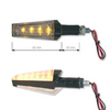 Intermitentes Leds Exclusive negro