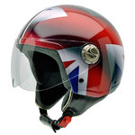 3D Vintage II UK FLAG red line