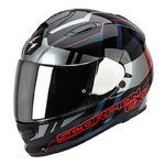 SCORPION Exo-510 Air Stage Black Grey Red