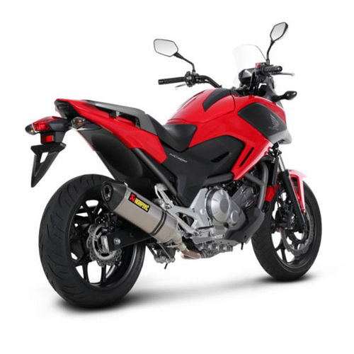 Escapes AKRAPOVIC Honda NC 700/750 S/X 2012>
