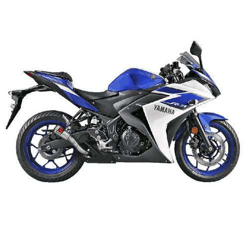 Escapes AKRAPOVIC Yamaha YZF-R3 2015>