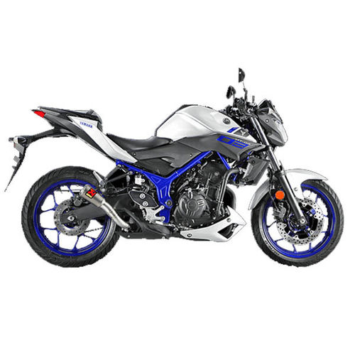 Escapes AKRAPOVIC Yamaha MT-03 2016>