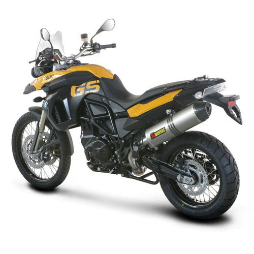 Escapes AKRAPOVIC BMW F800 GS / 700 / 650 (09-2016)