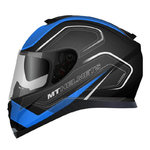 MT Thunder 3 SV Trace Matt Black Blue