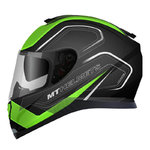 MT Thunder 3 SV Trace Matt Black Green
