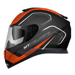 MT Thunder 3 SV Trace Matt Black Orange