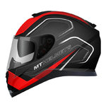 MT Thunder 3 SV Trace Matt Black Red