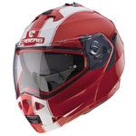 Casco CABERG Duke II Legend Rojo Blanco