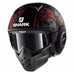 Casco SHARK Drak/Raw Sanctus Mat KRA