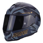 Casco SCORPION Exo 510 Air Cipher Matt Black Gold