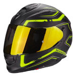 Casco SCORPION Exo 510 Air Radium Matt Black Neon Yellow
