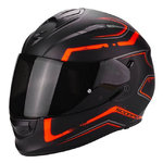Casco SCORPION Exo 510 Air Radium Matt Black Orange