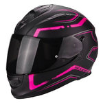 Casco SCORPION Exo 510 Air Radium Matt Black Pink