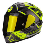 Casco SCORPION Exo 2000 Evo Air Brutus Neon Yellow Silver