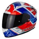 Casco SCORPION Exo 2000 Evo Air Brutus White Red Blue
