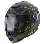Casco CABERG Droid Blaze Matt Black Yellow