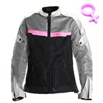 Chaqueta V Quattro VE51 Lady Grey Black Pink