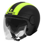 Casco CABERG Uptown Legend Matt Black Yellow