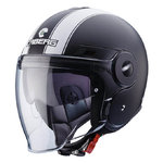 Casco CABERG Uptown Legend Matt Black White