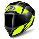 Casco AIROH Valor Eclipse Yellow