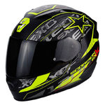 Casco Scorpion Exo 1200 Air Solis Matt Black Yellow