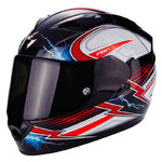 Casco Scorpion Exo 1200 Air Fulgur Black White Red