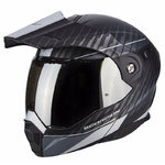 Casco Scorpion Exo ADX-1 Dual Matt Black Silver