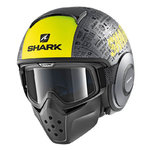 Casco SHARK Raw Drak Tribute RM Mat AYK
