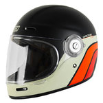 Casco Retro ORIGINE Vega Classic Black Matt