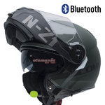 Casco NZI Combi 2 Duo Flydeck Green Matt Bluetooth