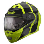 Casco CABERG Duke II Impact Fluo Yellow Black