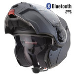 Casco CABERG Droid Matt Antracite Bluetooh-Intercom
