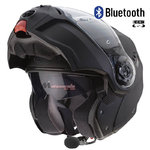 Casco CABERG Droid Matt Black Bluetooth-Intercom