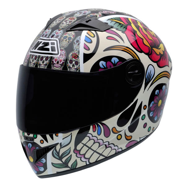 S NZI Casco Integral Must II Mexican Skulls