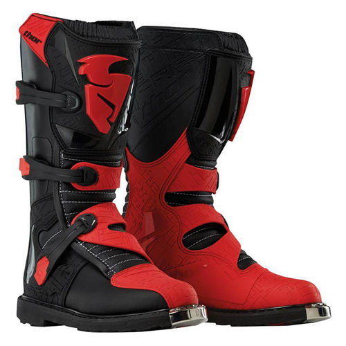 Botas THOR Blitz Black Red