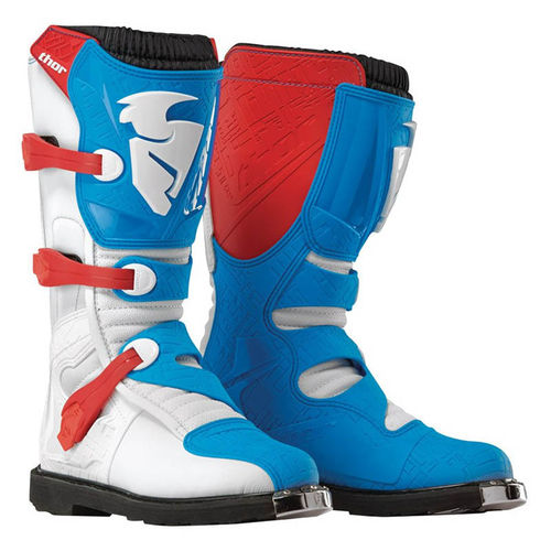 Botas THOR Blitz White Red Blue