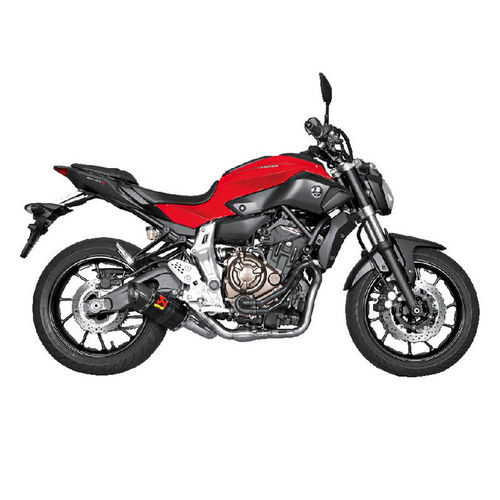 Escapes AKRAPOVIC Yamaha MT-07 2014>