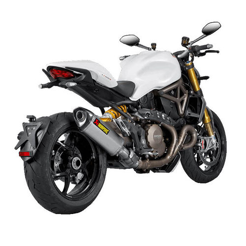 Escapes AKRAPOVIC Ducati Monster 1200/1200S 2014>