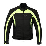Chaqueta moto Freeday Aviation Negro Amarillo
