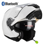 Casco NZI Combi 2 Duo White Bluetooth