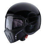 Casco CABERG Ghost Negro