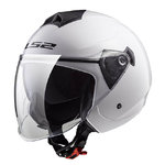 Casco LS2 OF573 Twister Solid White