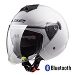Casco LS2 OF573 Twister Bluetooth-Intercom White