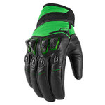 Guantes ICON Konflict Verde