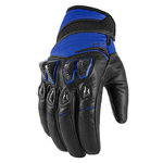 Guantes ICON Konflict Azul