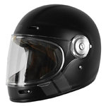 Casco Retro ORIGINE Vega Stripe Black Matt