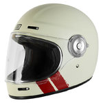 Casco Retro ORIGINE Vega Stripe White Matt