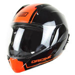 Casco ORIGINE Riviera Dandy Black Orange mate