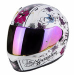 Casco SCORPION Exo 390 Chica Pearl White Black