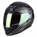 Casco SCORPION Exo 510 Air Route Matt Black Green
